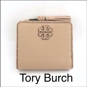 NWT Authentic Tory Burch Taylor Bifold Mini Wallet